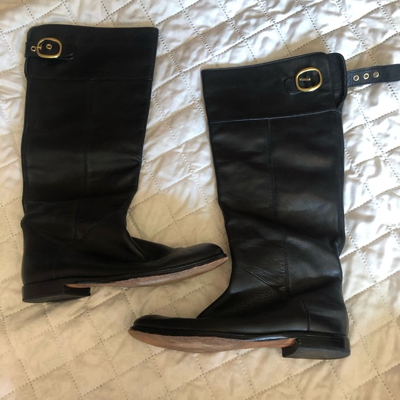 Coach knee high maely boot